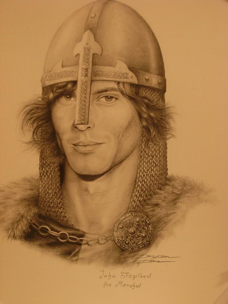A portrait by Diana Popovic Dicso.