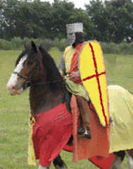 Norman knight on horseback