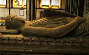The Earl of Salisbury's tomb