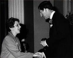 Elizabeth Chadwick and Prince Charles