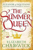 Paperback cover artwork for The Summer Queen by Elizabeth Chadwick